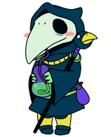 Plague Knight's Sippy Time by Noobynewt