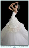 White Dress Ball Gown by LilyStox