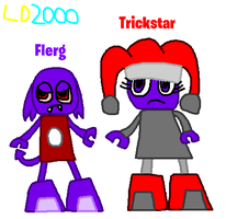 Mixels: Flerg and Trickstar as Mixel by Luqmandeviantart2000