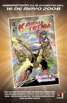 Karmatron issue 9 by Saskunah