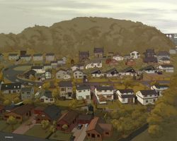 town1 colored by Sheharzad-Arshad
