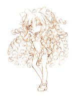 venus... with curls... sketch by sureya