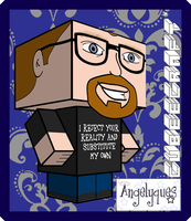 Adam Savage Cubeecraft by angelyques