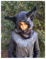 Fox hood -SOLD- by Kay-Ra