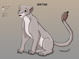 Shetani Lion king OC by Krispina-The-Derp