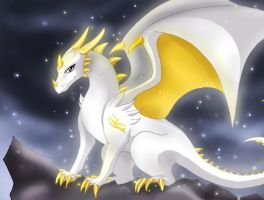 Dragon of hope by Jacky-Bunny