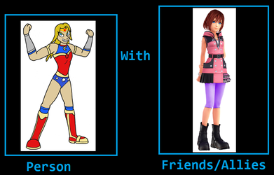 What if Athena is friends with Kairi? by NeoduelGX