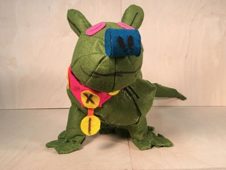 Green Dog 5 by JFP