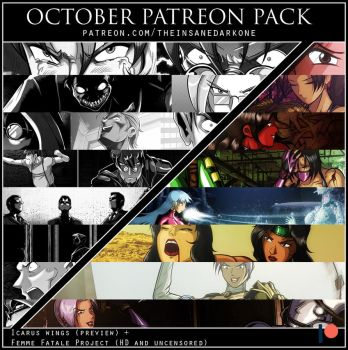 Patreon - October 2017 pack now available! by TheInsaneDarkOne