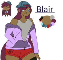 Blair | Ref sheet by emmbug124