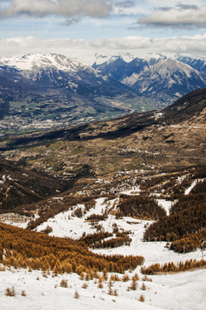 Les Orres View by Zavorka
