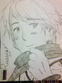 Russia Sketch {Hetalia} by Scourge84324