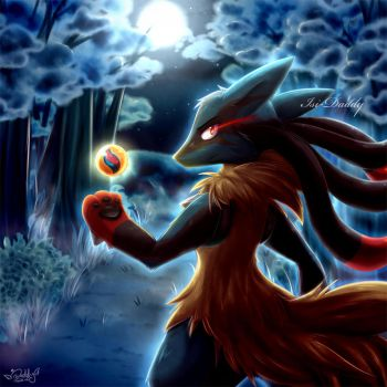 Lucario - It's about time by Isi-Daddy