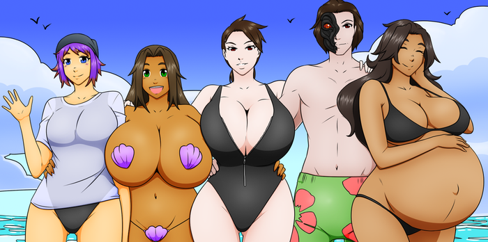 Beach Episode: Group Photo by elek-tronikz