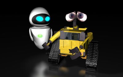 WallE and Eva by Darwey