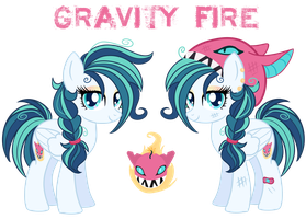 Gravity Fire - Canon-Style Reference by Petrinox