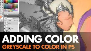 Digital Painting Video - Greyscale to Color by ClintCearley