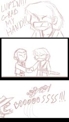 GRAB MY HAND Scribble by Whimsy-Floof