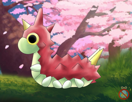 Wurmple Wallpaper