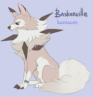 Baskerville the lugarugan by xSimonBQ