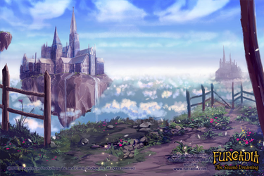 Furcadia: CC Castle Background by fang