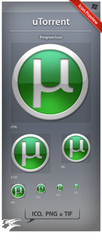 Icon uTorrent by ncrow