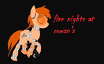 Five Nights At Rowan's Nadien The Privet Pony by rainbow223