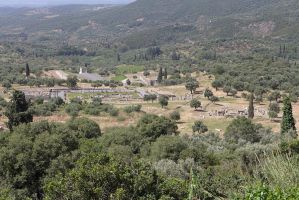 Overview of Ancient Messene by bobswin