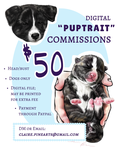 Puptraitcommissions by pinearts