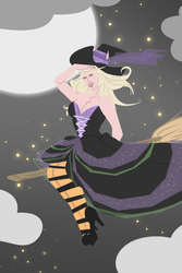A witch!! Bwaaa! by SinningDorei