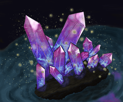 Multicolor Crystal by HellmoonHV