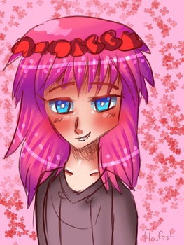 Flower Crown Marluxia by floofest