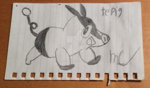 Tepig Sketch by Darkswag