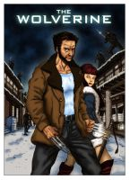 The Wolverine (Comic Style) by N8MA