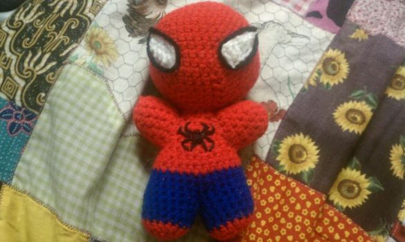 Itty Bitty Spidy by bexiemorse