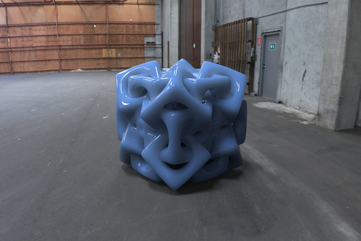 Woven Cube by Tate27kh