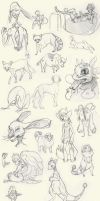 Sketchy Sketches 2 by StoryShepherd