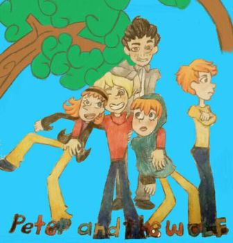Peter and the wolf-request  by Jaimielovesfanbase12