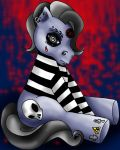 Gothic My Little Pony by Maryina-Maxwell