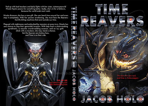 Time Reavers Book Cover 1 by hpholo