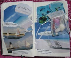 1st Altered Book 8, Favorites by angelstar22