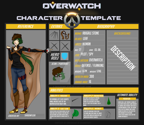 Overwatch OC  |  Leaf by ShadowFleur