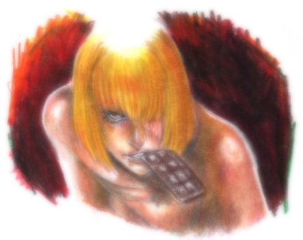 Mello from Death Note by AlessandrArt