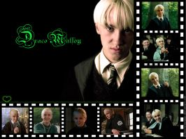 Devious Draco Malfoy Wallpaper by chocolatepuppy