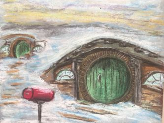 Winter in the Shire by mintdr