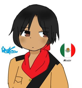 aph Mexico  Oc by Phoems17cutieplier