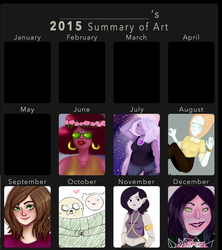 2015 Art Summary by JarteStarr