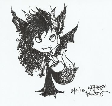 50 Fantasy Creatures Challenge  -#1 Dragon- by AngelFromTheAshes
