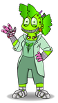 'Doctor' Fern by StarryOak