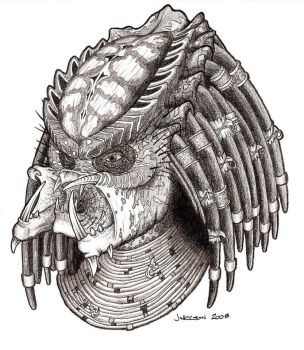 Predator 2 Hero Head by PredatrHuntr